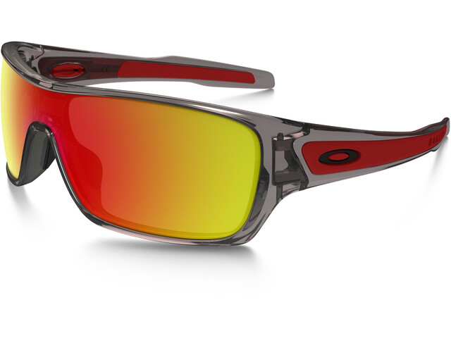 Oakley Turbine Rotor Sunglasses grey ink/ruby iridium